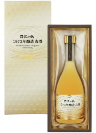 Brewed in 1973 Aged sake