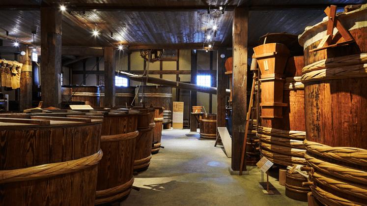 歴史ある酒造りに触れられる貴重な遺構