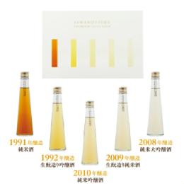 Premium Aged sake set-Tone